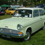Classic Ford Anglia Estate